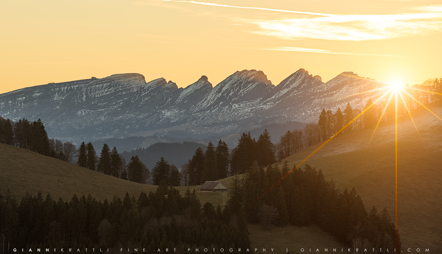 Six Peaks at Sunrise