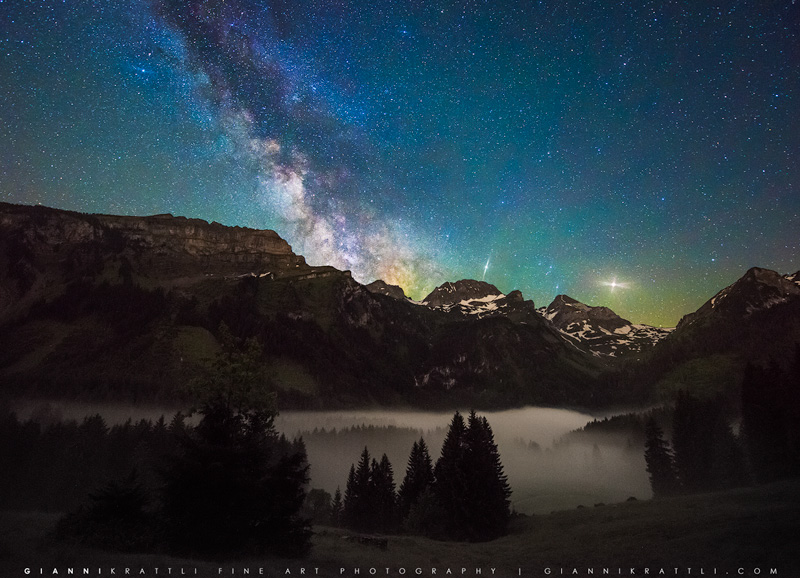 Mystical Milky Way