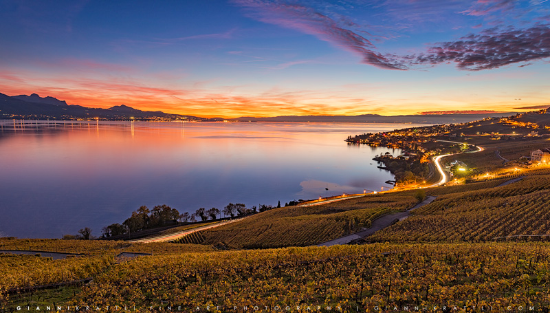 Lavaux Sunset