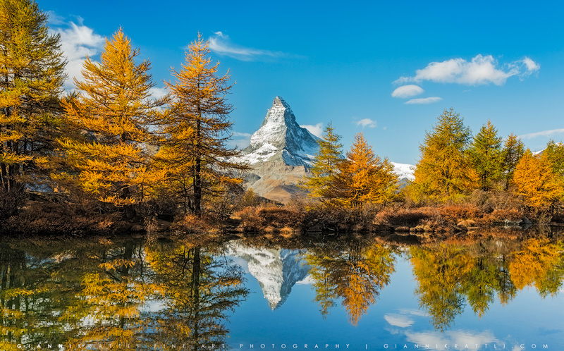 Autumn at the Matterhorn